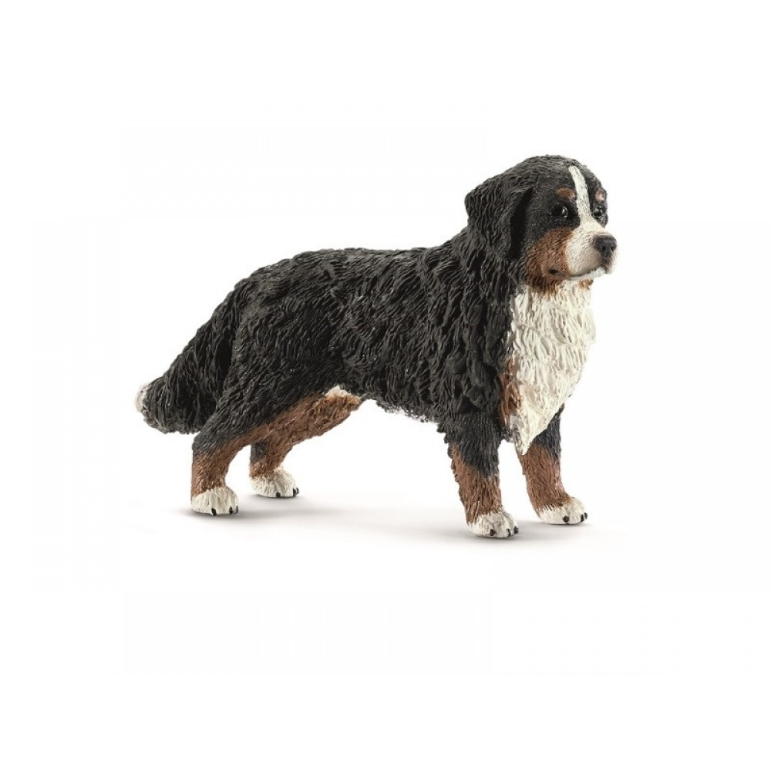 Berner Sennen hund, tæve, fra Schleich-31