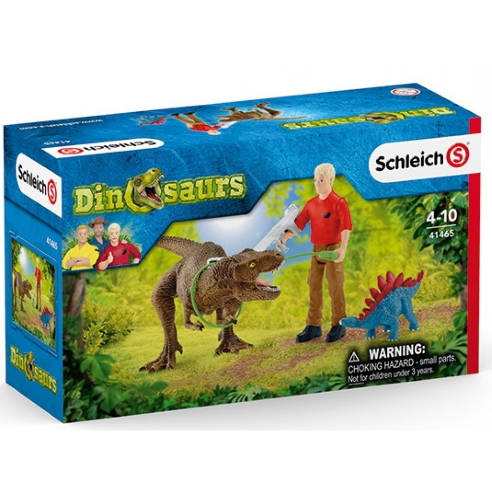 SchleichTyrannosaurusRexattack-31