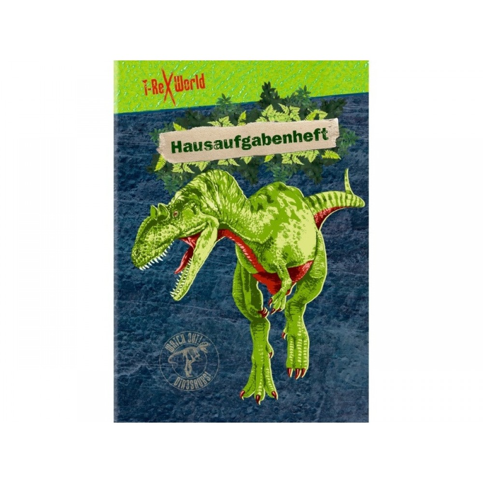 Opgavehæfte/skrivehæfte dinosaur fra T-Rex World-31