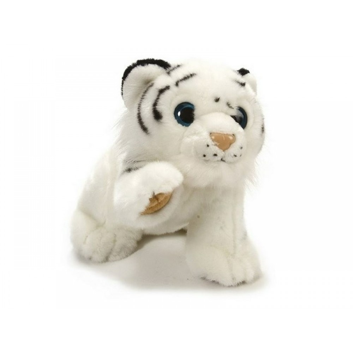 Wild Republic Hvid tiger bamse*-31