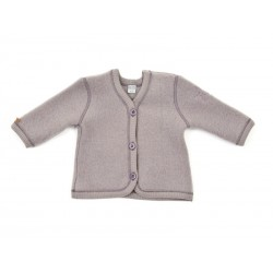 Smallstuff Cardigan i fleeceuld Lys Lilla-20