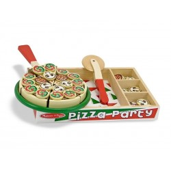 Melissa and Doug Pizza legemad i træ-20