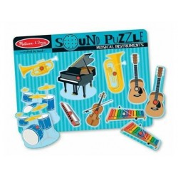 Melissa and Doug Lydpuslespil med musikinstrumenter*-20
