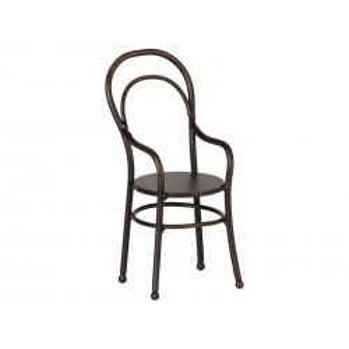 Maileg Vintage stol m. armlæn mini-20