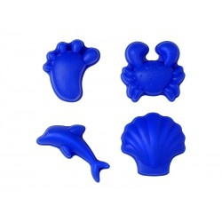 Sandforme 4 stk.Scrunch moulds fra Funkit World-20