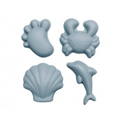 Scrunch-moulds Sandforme Lyseblå-20