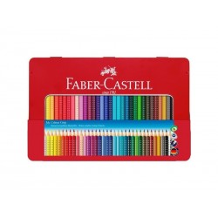 Faber-Castell akvarel grip farveblyanter, 36 stk i metalæske-21