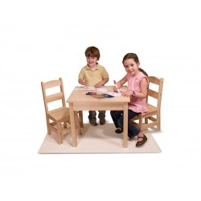 Bord og stolesæt børn fra Melissa and Doug-20