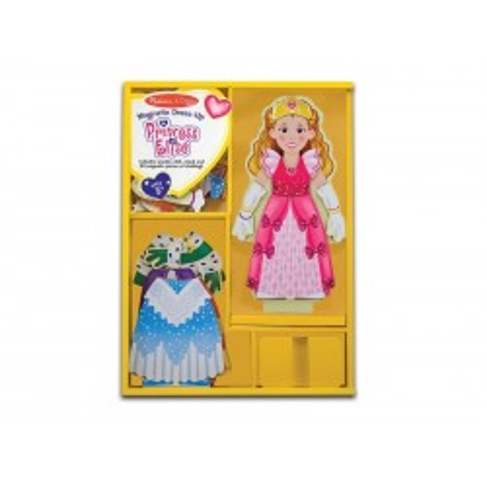 Påklædningsdukke Prinsesse Elise, magnetisk Melissa and Doug-20