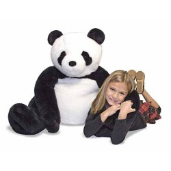 Panda stor bamse fra Melissa and Doug-20