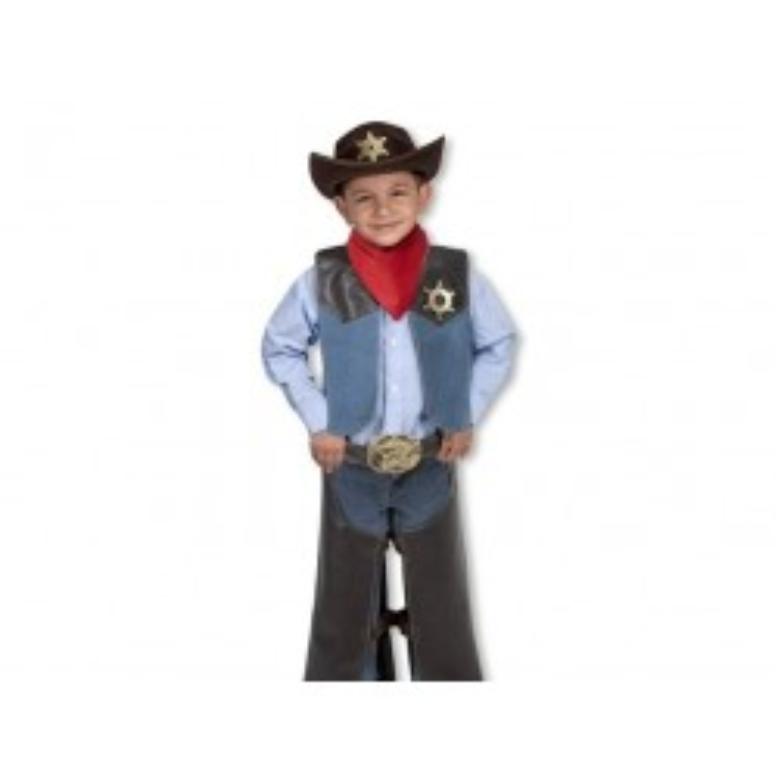 Melissa and Doug Cowboy udklædning børn-20
