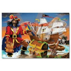 Melissa and Doug Puslespil Pirater-20