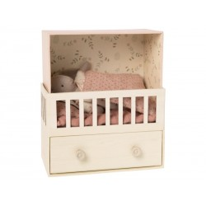 Baby værelse m. musik og micro bunny Maileg-20