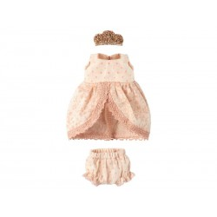 Maileg Micro Prinsessekjole Rosa-20