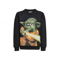 LEGO wear Sweatshirt Star wars m. Yoda Sort-20