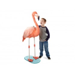 Flamingo kæmpe bamse Melissa and Doug-20