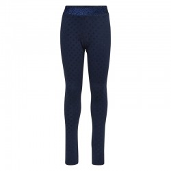 Leggins med velour dekoration fra LEGO Wear – Navy-20