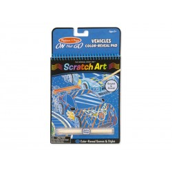 Scratch Art On The Go, Køretøjer Melissa and Doug-20