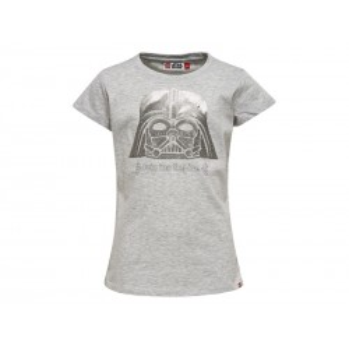 LEGO Star Wars Pige T-shirt Grå Meleret-20