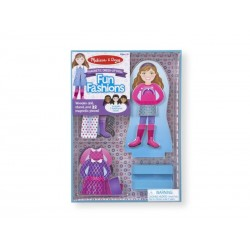 Påklædningsdukke, Magnetisk, Fashion Melissa and Doug-20