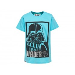 LEGO Star Wars T-shirt Darth Vader Lys Turkis-20