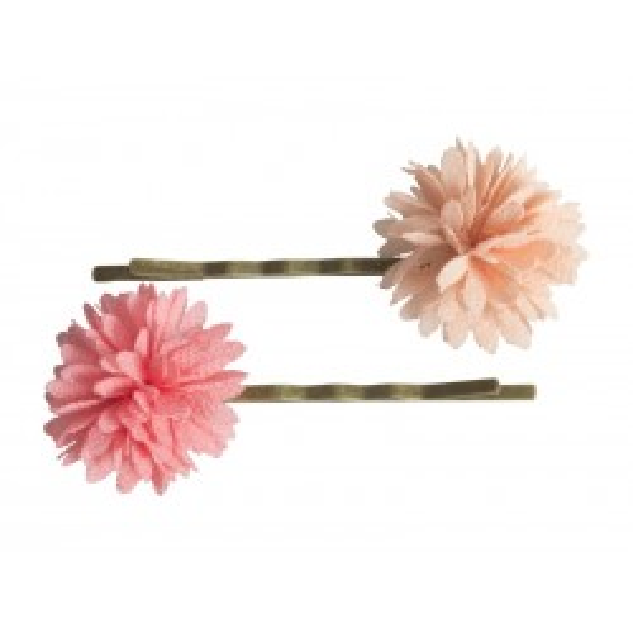 Hårnåle med Chiffon Blomst, Rosa Maileg-20
