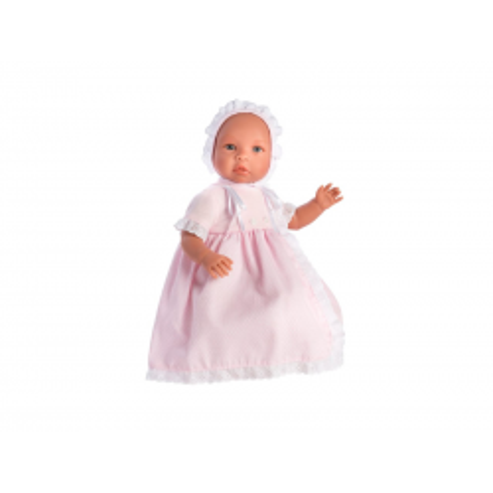 Leonora Babydukke, Lyserød Dåbskjole Así-20