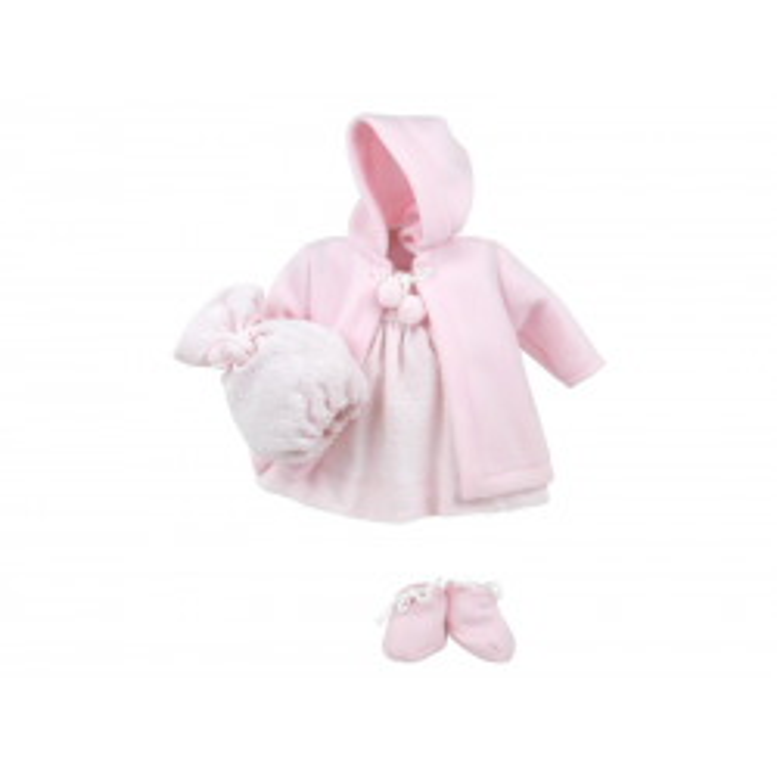 Así Leonora dukketøj kjole/frakke-20