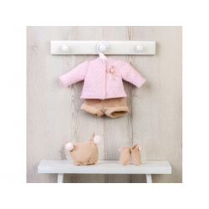Dukketøj, Termotrøje med Buks i Rosa til Koke Así-20