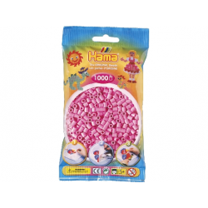 HAMA Midi Perler 1.000 stk., Pastel Pink-21