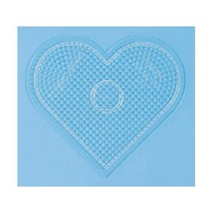 HAMA Hjerte Perleplade, Stor-20