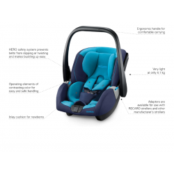 RECARO Guardia 0-13 kg, Performance black-20
