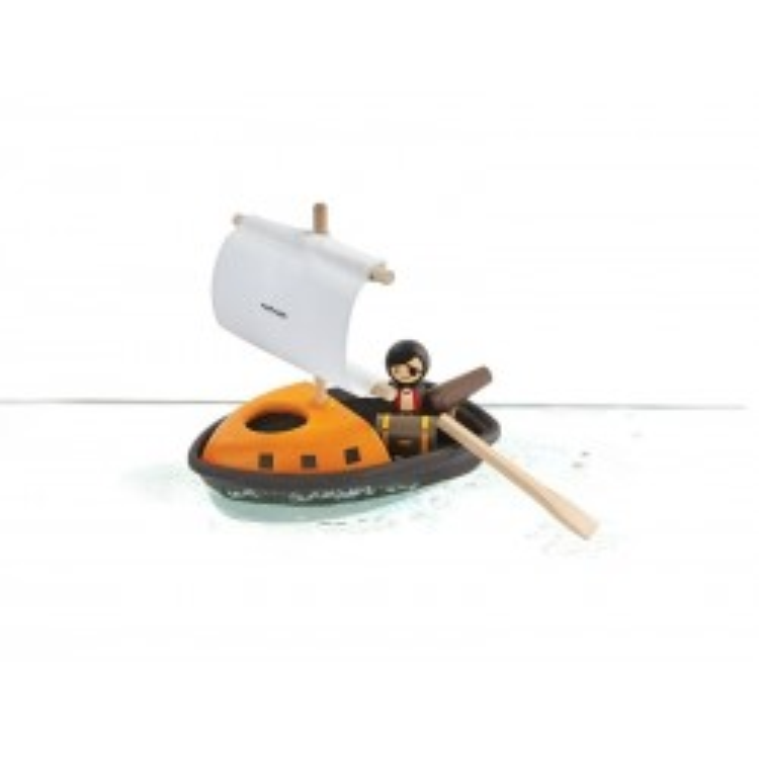 Piratbåd fra PlanToys-20