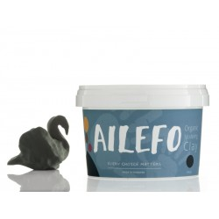 Ailefo Økologisk modellervoks, stor bøtte Grøn-20