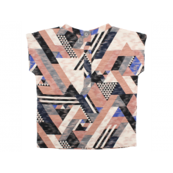 Top T-shirt all-over print fra small rags – Multifarvet-20