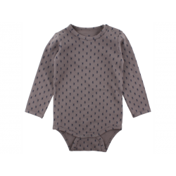 Body med Mr. Rags print fra small rags – Grå-20