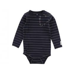 Small Rags Langærmet Fly Body Navy-20