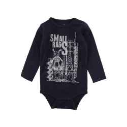 Small Rags Felix Langærmet Body Navy-20