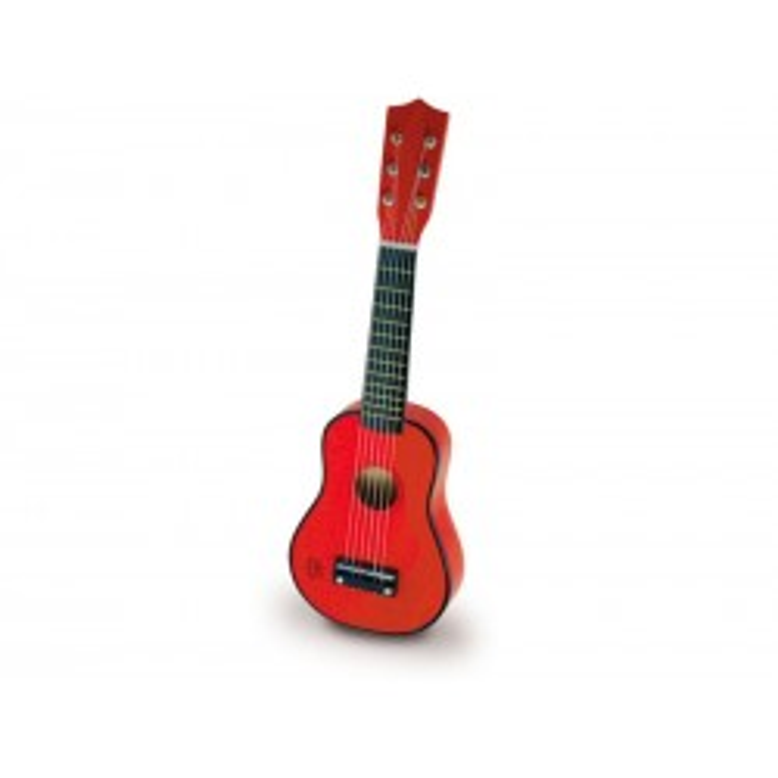 Vilac Rød guitar i træ 2. SORTERING-20