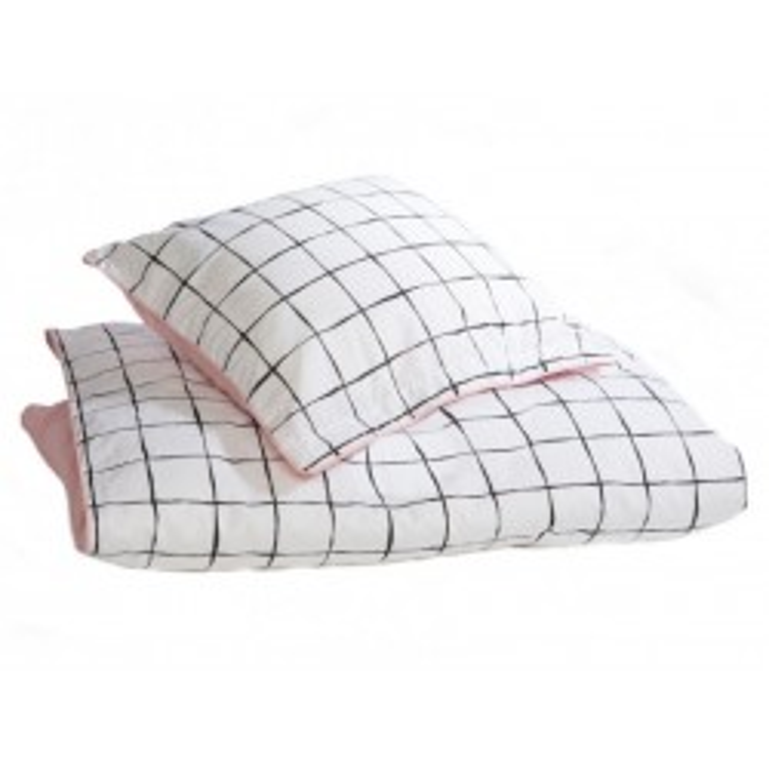 Ternet baby sengetøj rosa Dluks by us-20