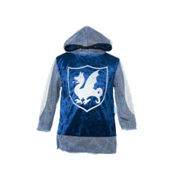 Ridder trøje m. hætte i blå Den Goda Fen-20
