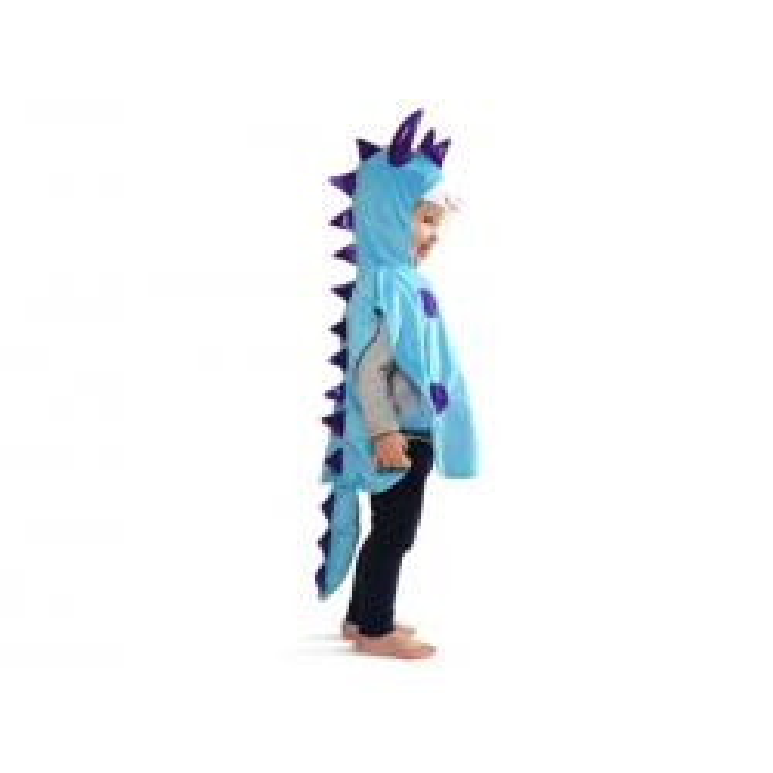 Dyrekostume blåt monster 2-4 år Den Goda Fen-20
