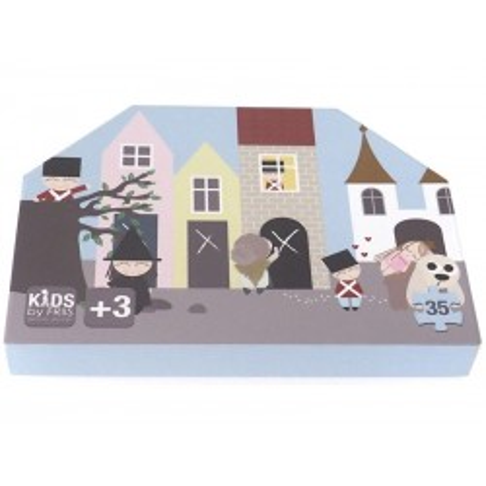 Puslespil, Fyrtøjet Kids By Friis-20