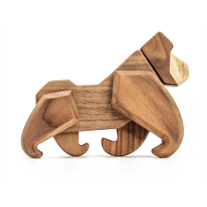 FableWood Gorilla Magnetisk Trælegetøj-20