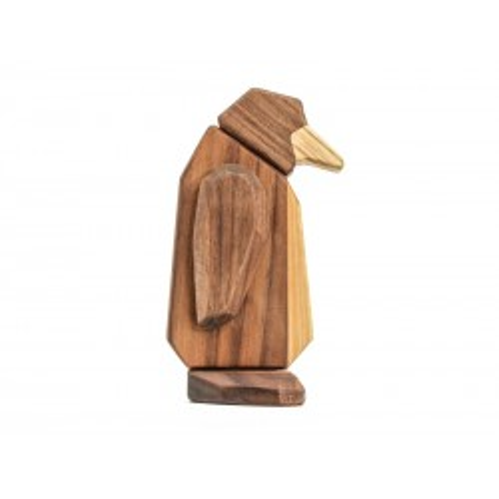 FableWood Pingvin Magnetisk Trælegetøj-20