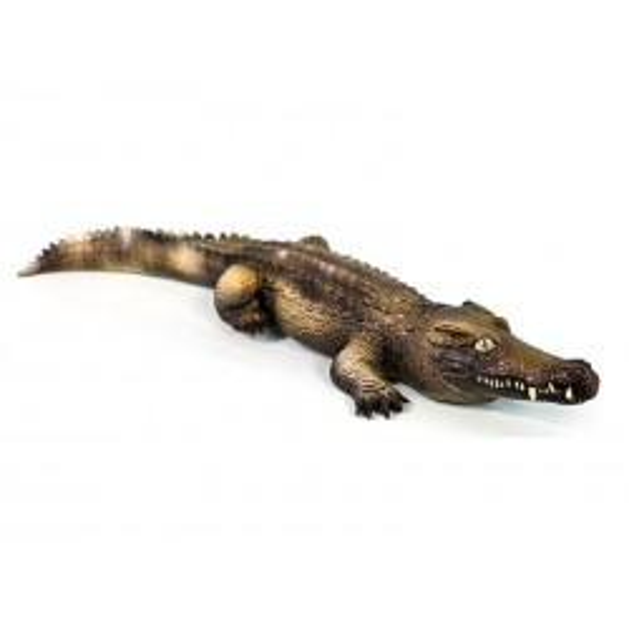 Krokodille gummidyr Green Rubber Toys-20