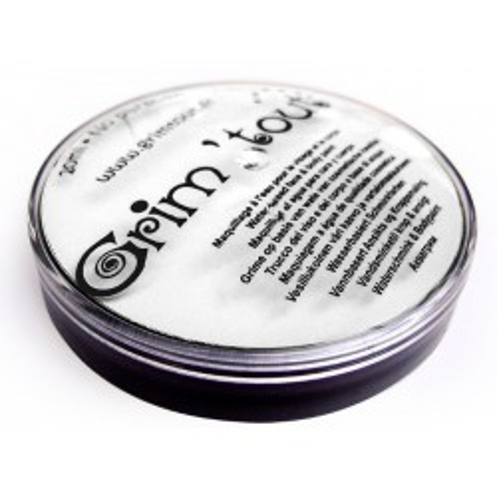 Grimtout Ansigtsmaling Hvid Parfumefri, 20ml-20