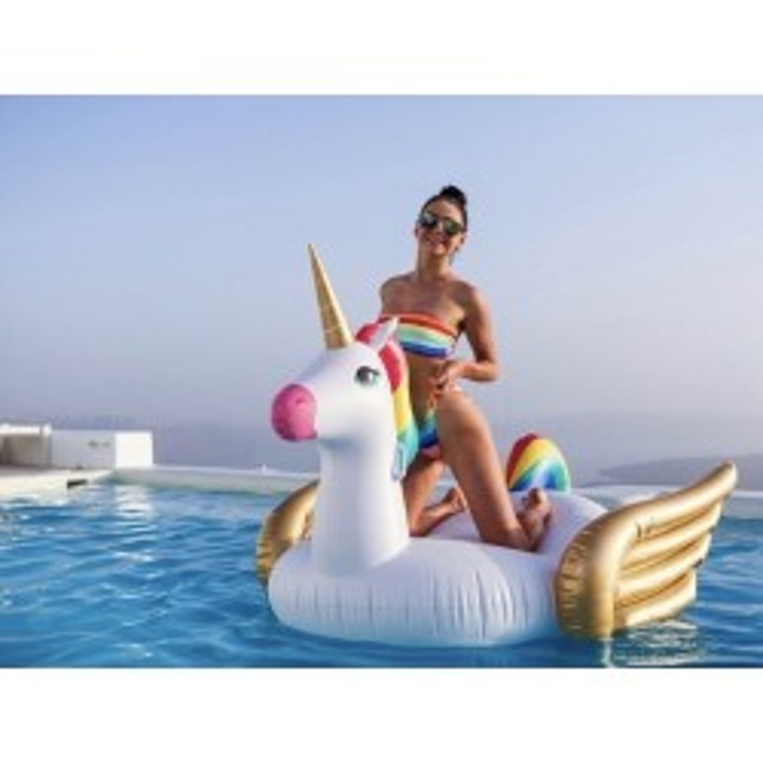 Kæmpe badedyr ride-on, enhjørning Sunnylife-20