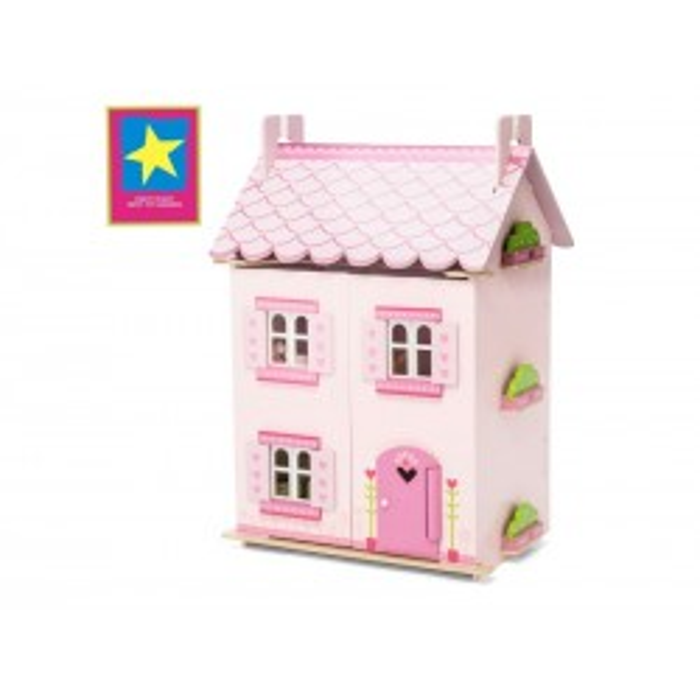 Dukkehuset My First Dreamhouse fra Le Toy Van inkl. møbler-20