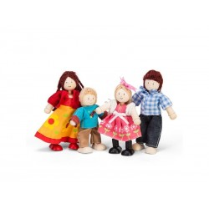 Dukkefamilie i gaveæske fra Le Toy Van-20